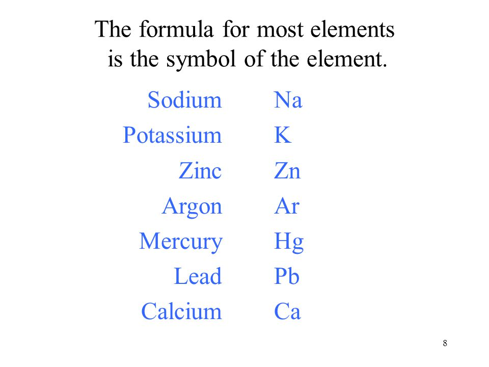 49 Step 3 Modify the name of the second element to the stem fluor- and add the binary ending –ide to form the name of the negative part, fluoride.