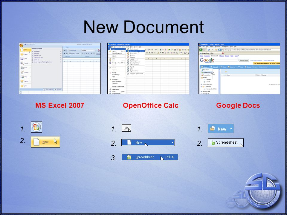 Allows data organisation Enter and highlight data Apply a sort or a filter Sort and filter