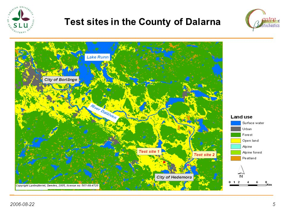 2006-08-225 Test sites in the County of Dalarna