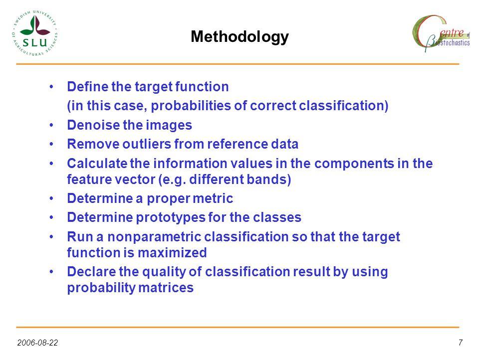 2006-08-2218 Classification test site 2, 5 scenes