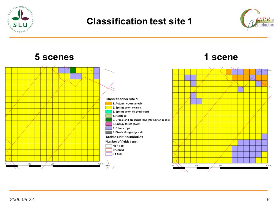 2006-08-2219 Probability per class, test site 2, 5 scenes