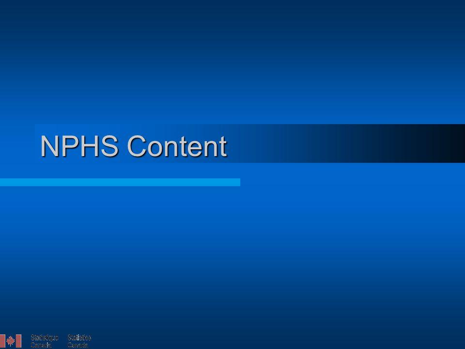 NPHS Content