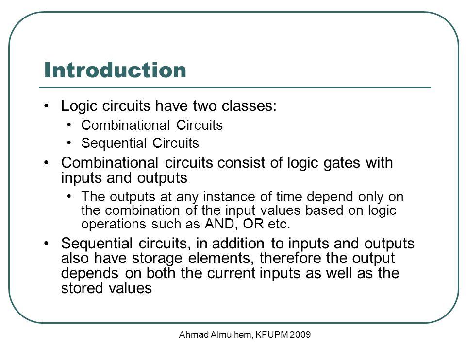 Combinational Circuits Combinational Circuit........