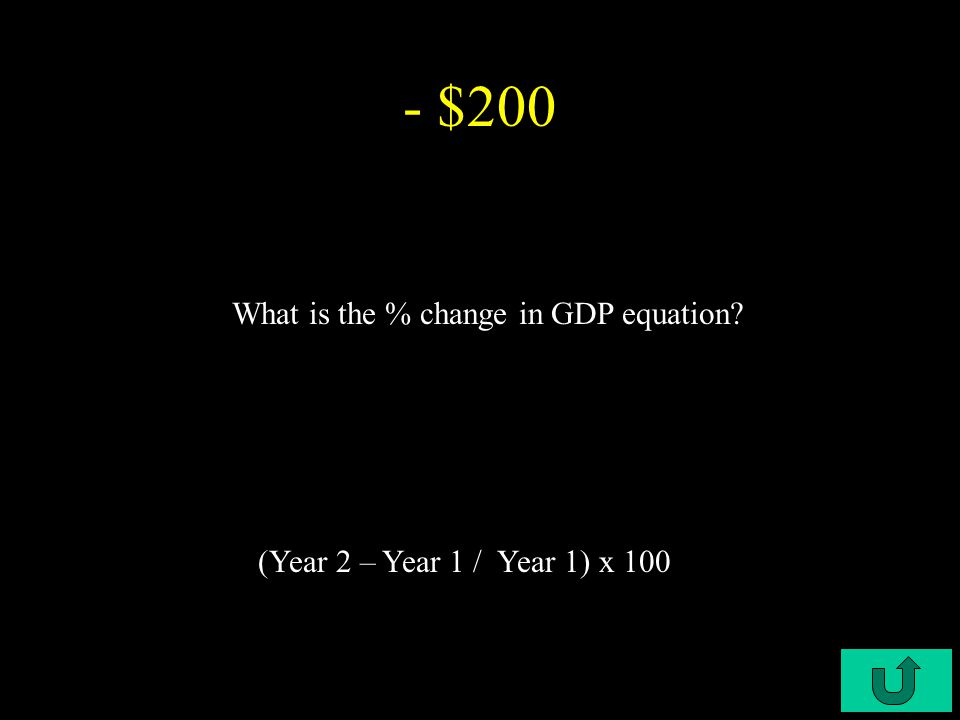 C3-$100 - $100 What is the Marginal Unit Cost equation opportunity cost / units gained