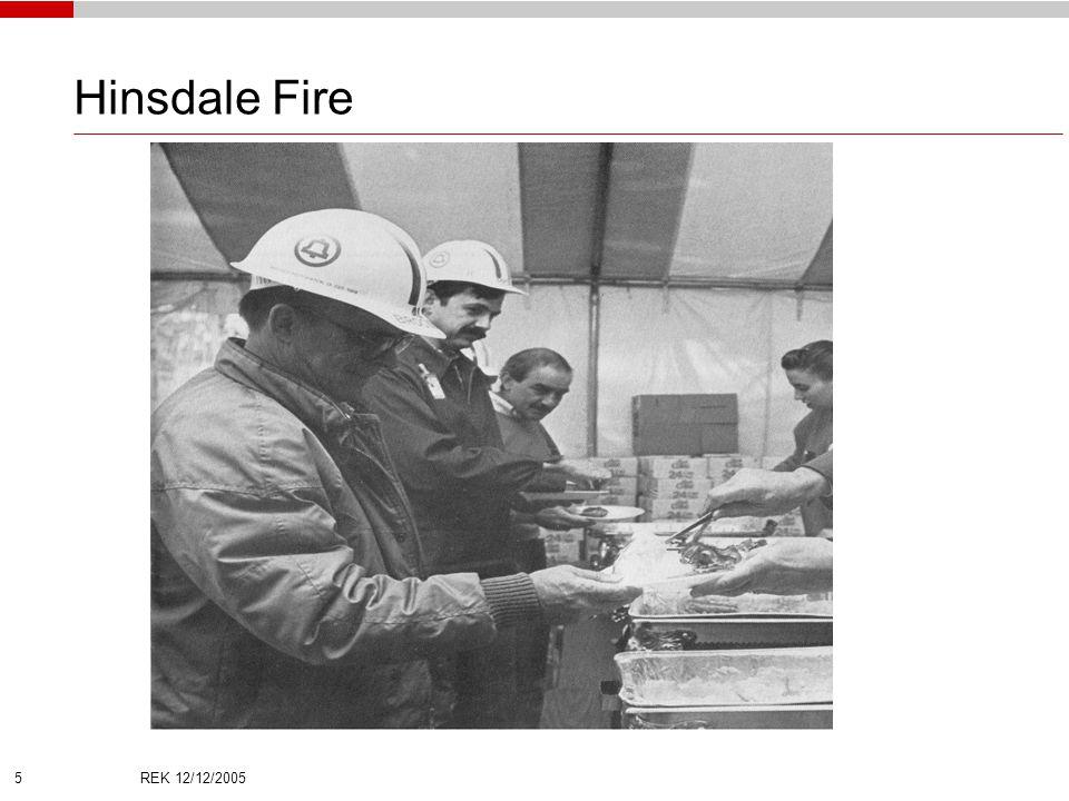 REK 12/12/2005 5 Hinsdale Fire