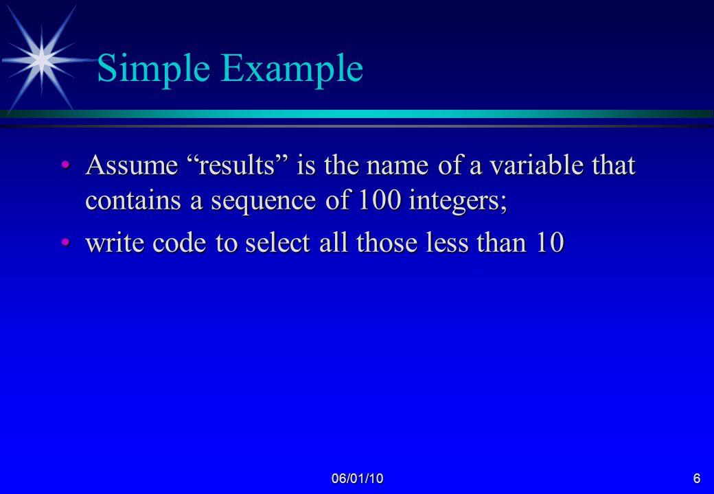 06/01/105 ImperativeImperative versus Declarative FunctionalFunctional versus Logic instructing instructing a machine versus solving a problem Java C++ FORTRAN LISP Prolog SML Miranda Haskell Introduction