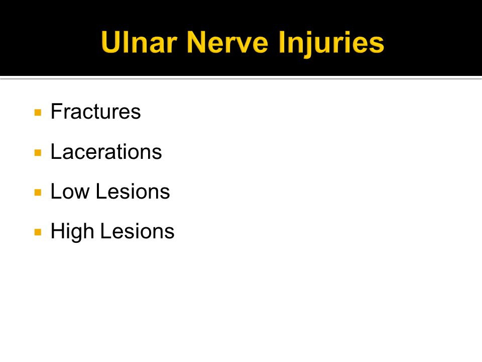  Fractures  Lacerations  Low Lesions  High Lesions
