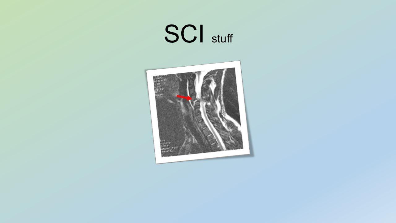 SCI stuff