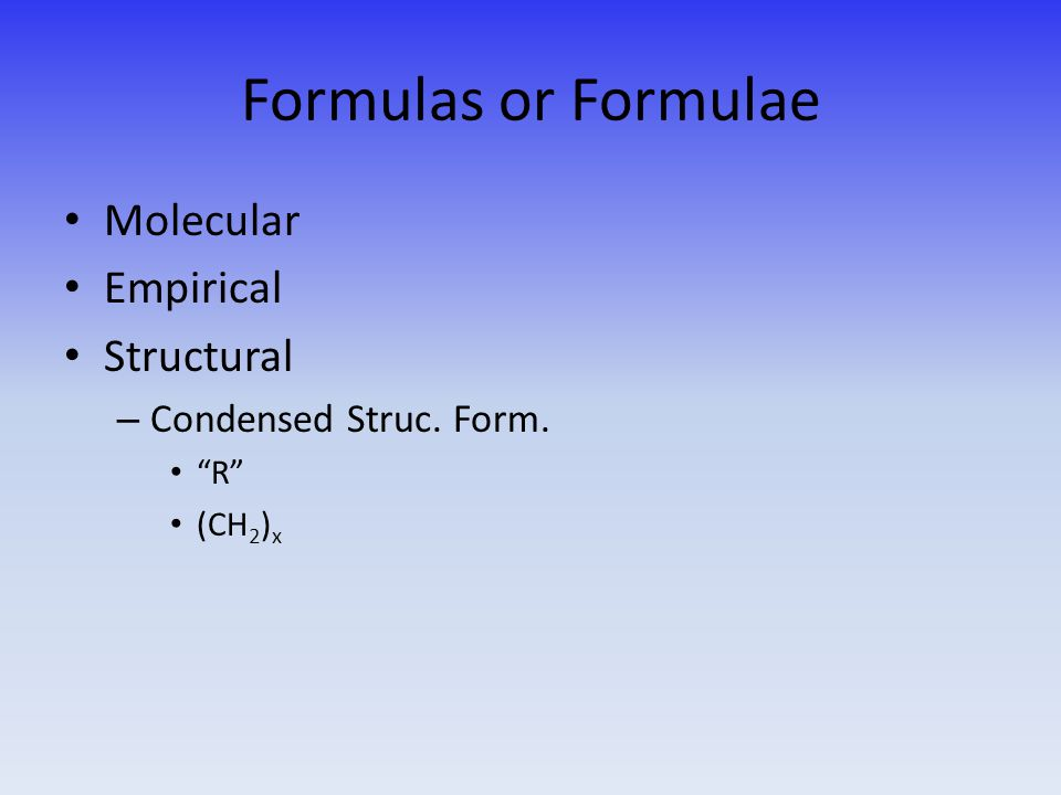 Structural (or Constitutional) Isomers What are they.