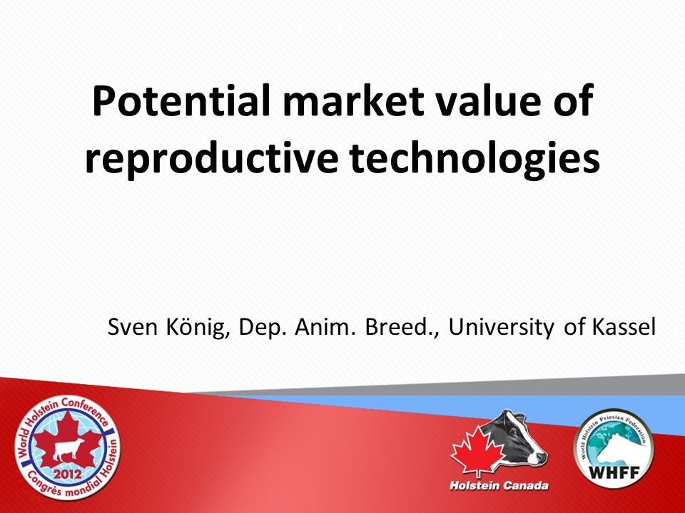 Final Conclusions AI and GS: substantial impact on genetic gain and market value ET or OPU/IVF: more relevant in the pre-genomic era Semen Sexing: a valuable tool for improving on-farm selection (requires good farm management) Cloning: no breeding, no risk, no fun