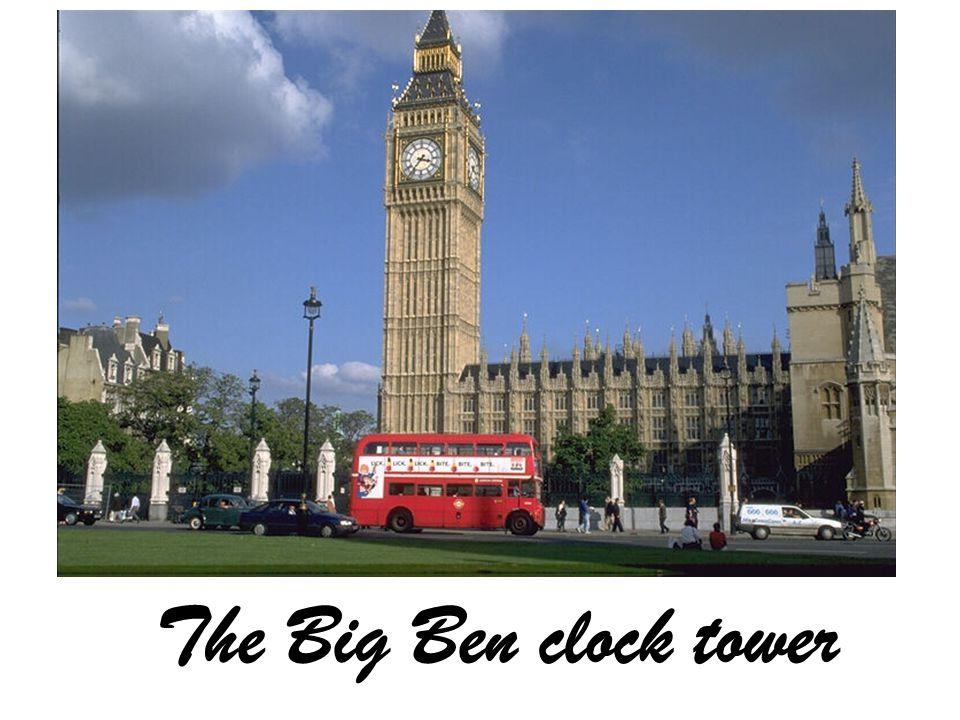 The Big Ben clock tower
