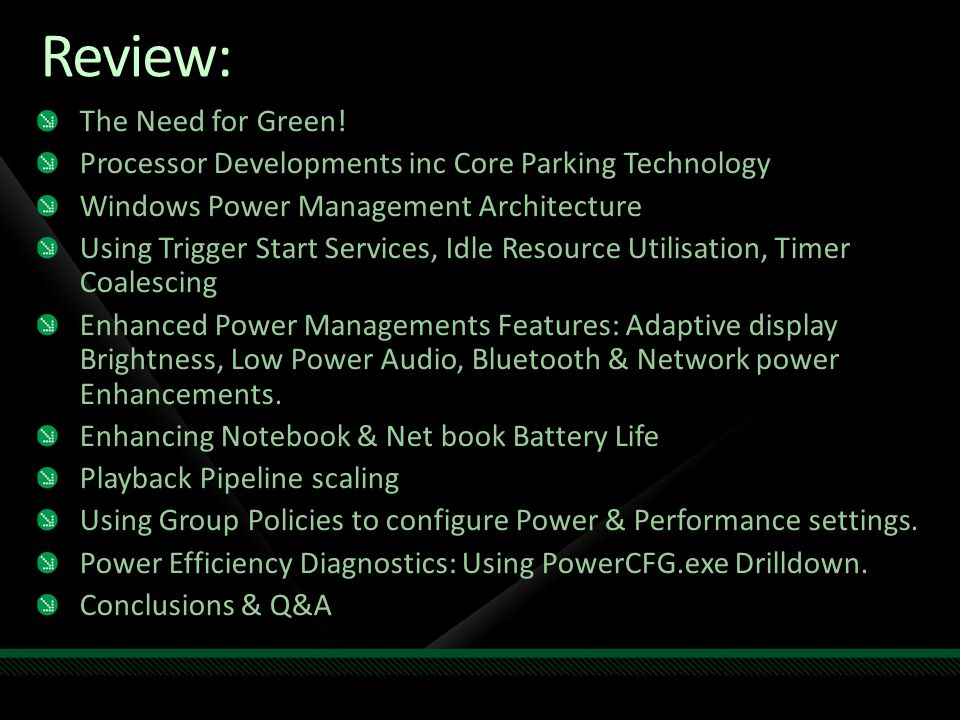 Review: The Need for Green.