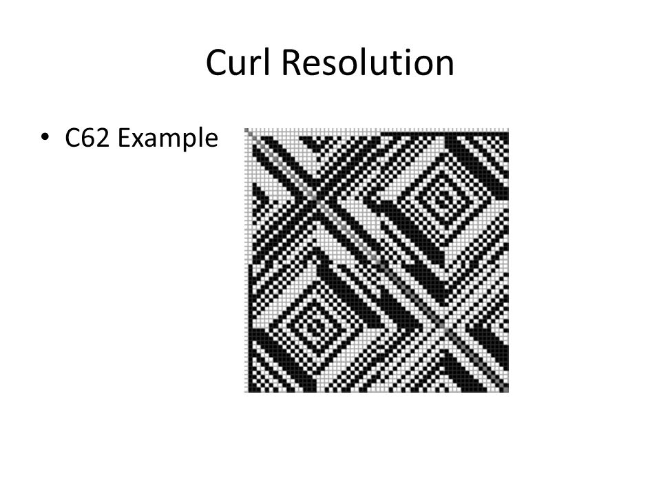 Curl Resolution C62 Example