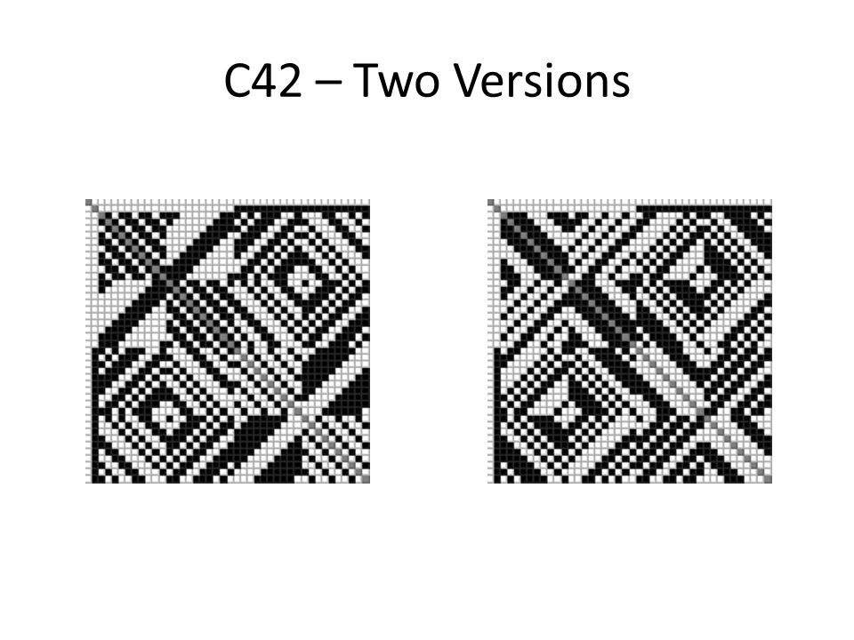 C42 – Two Versions