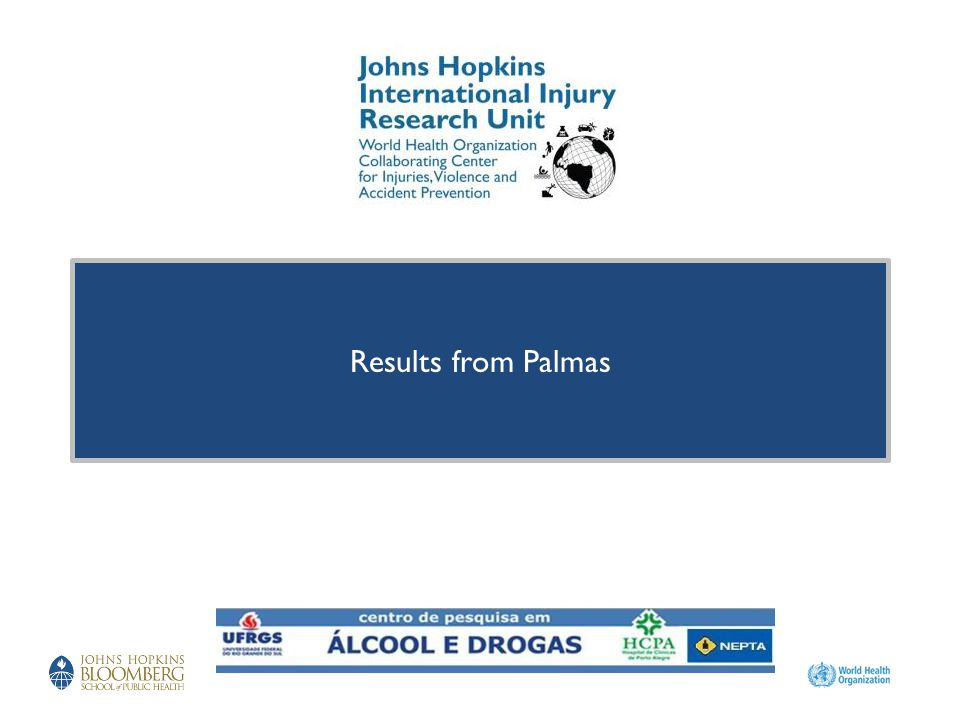 Results from Palmas