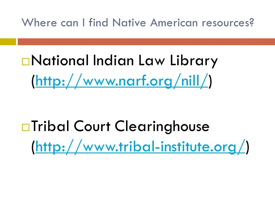 Where can I find Native American resources.