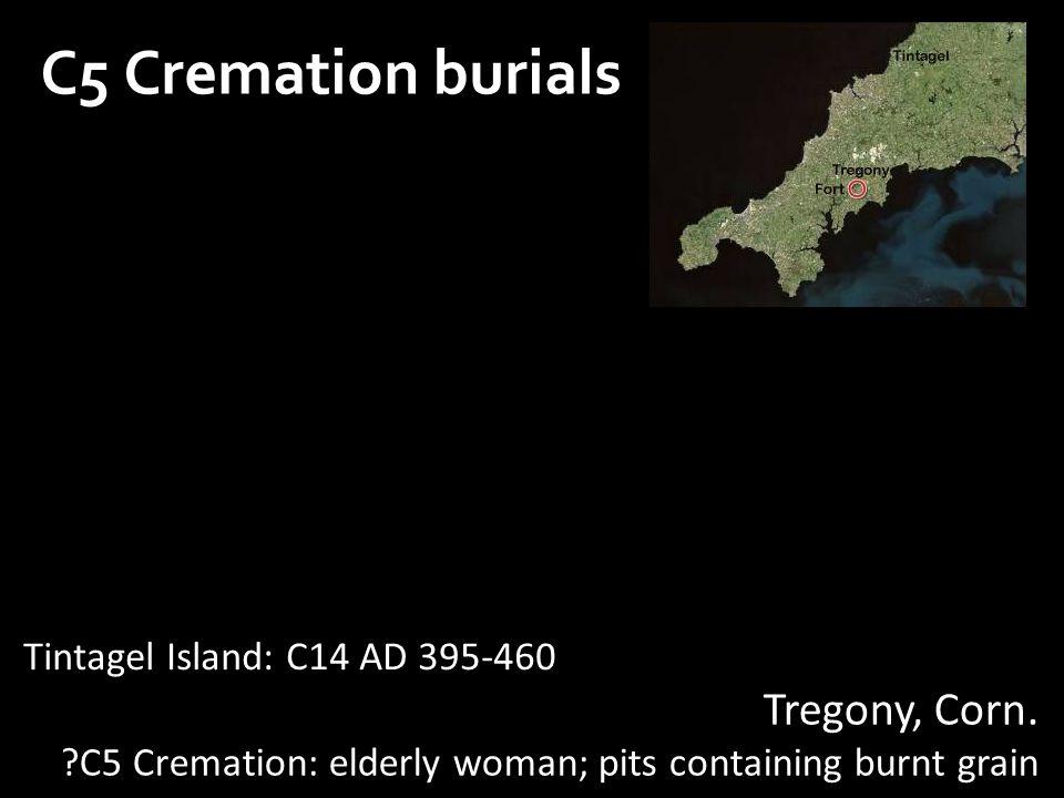 C5 Cremation burials Tregony, Corn.