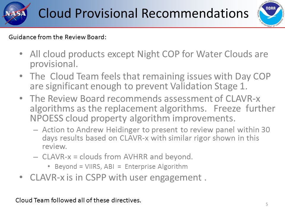 Cloud Top Property Error Budget Based on CALIPSO/CALIOP co-locations with VIIRS.
