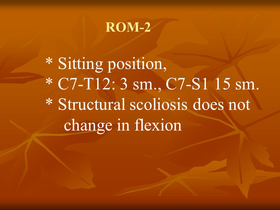 The level of the lesion by key points There is no key muscle Beevor's sign Neurologic Examination