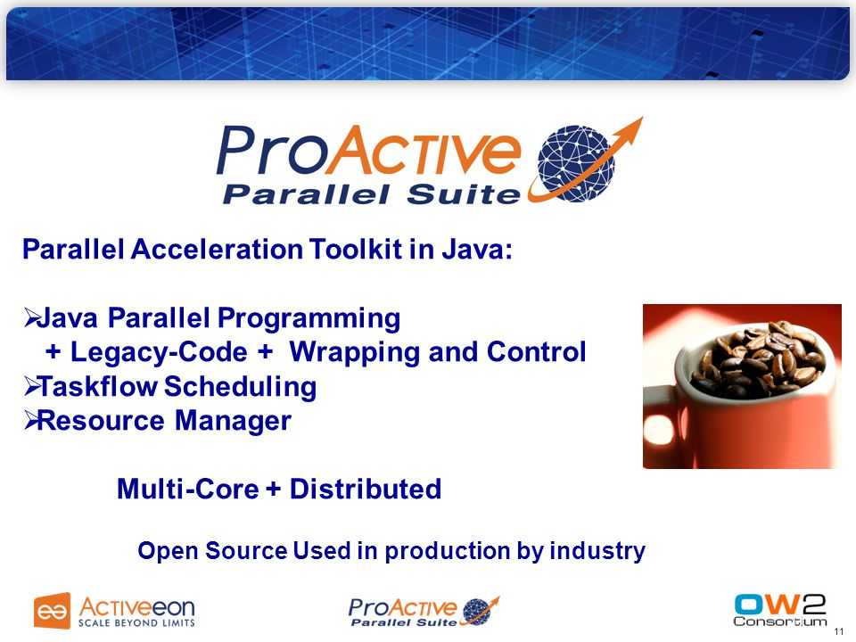 10 2. Overview ProActive Parallel Suite