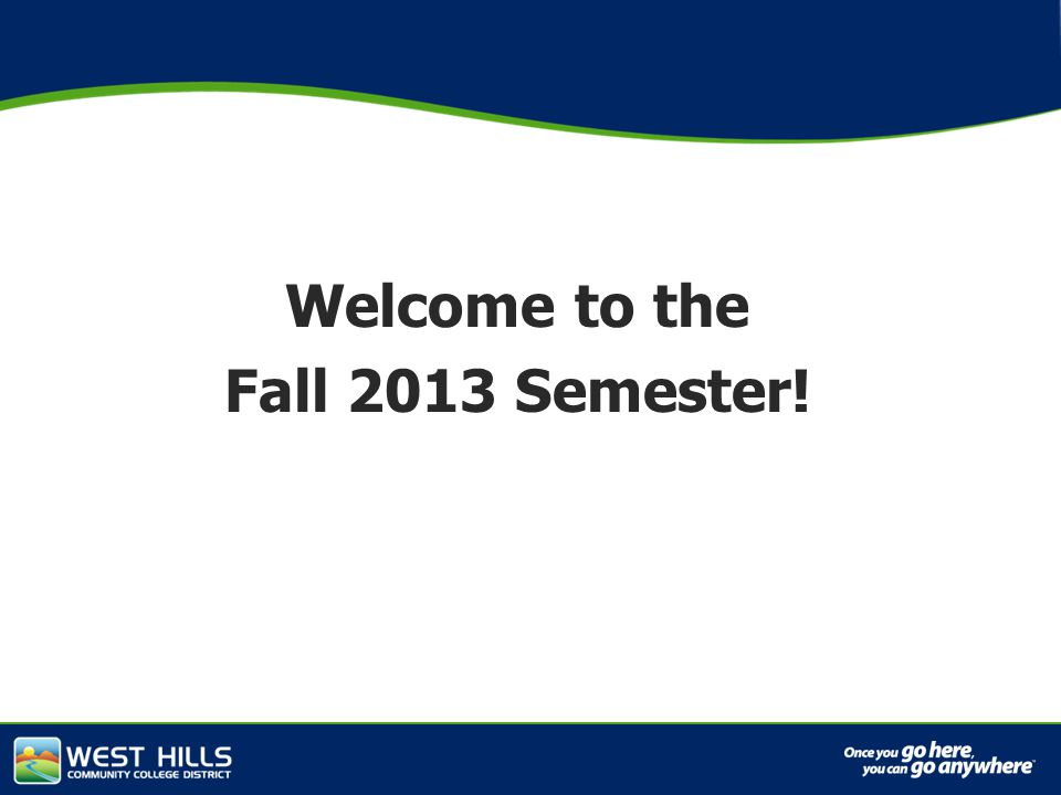 Capital Investments Welcome to the Fall 2013 Semester!