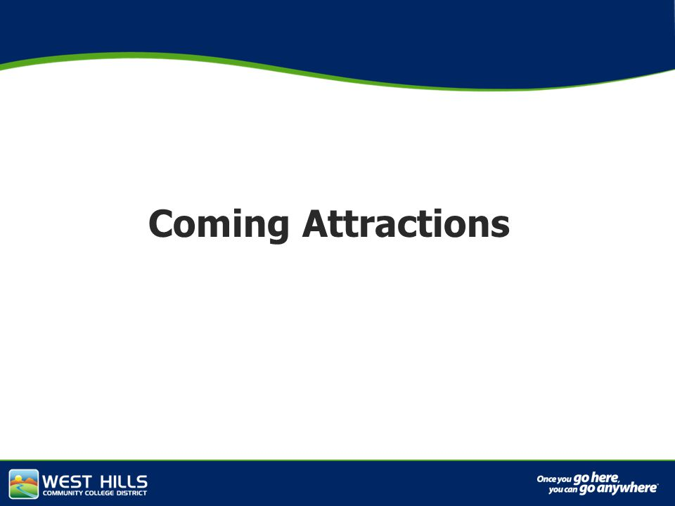 Capital Investments Coming Attractions