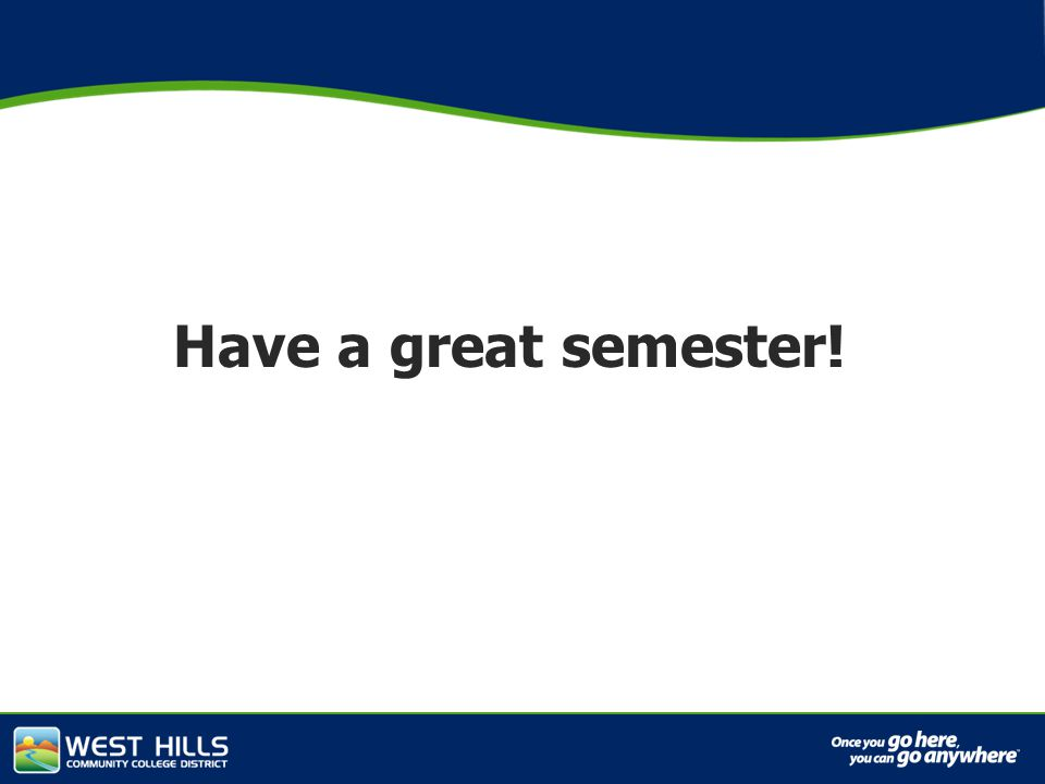 Capital Investments Have a great semester!