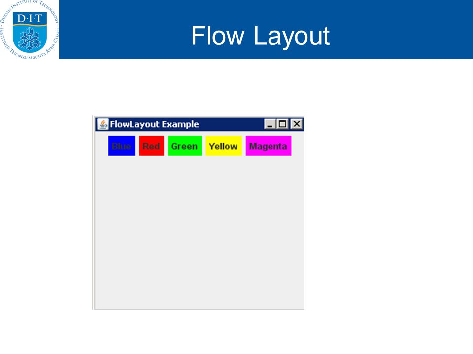 Flow Layout