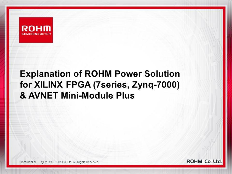 c 2013 ROHM Co.,Ltd.
