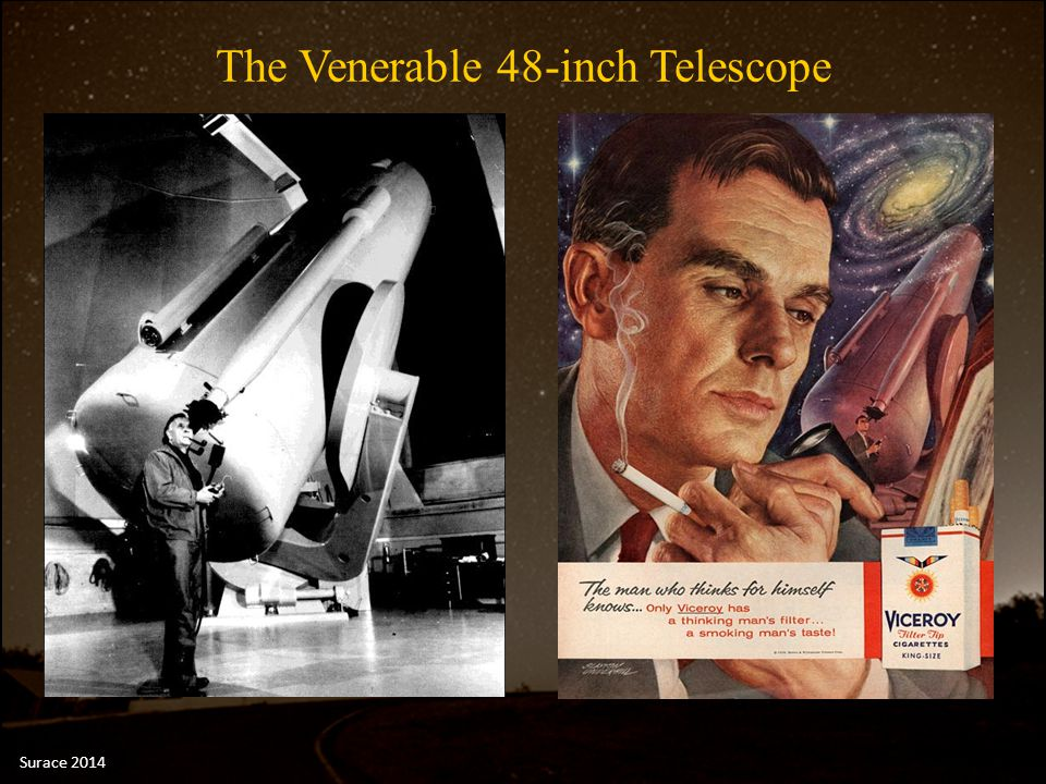 The Venerable 48-inch Telescope Surace 2014