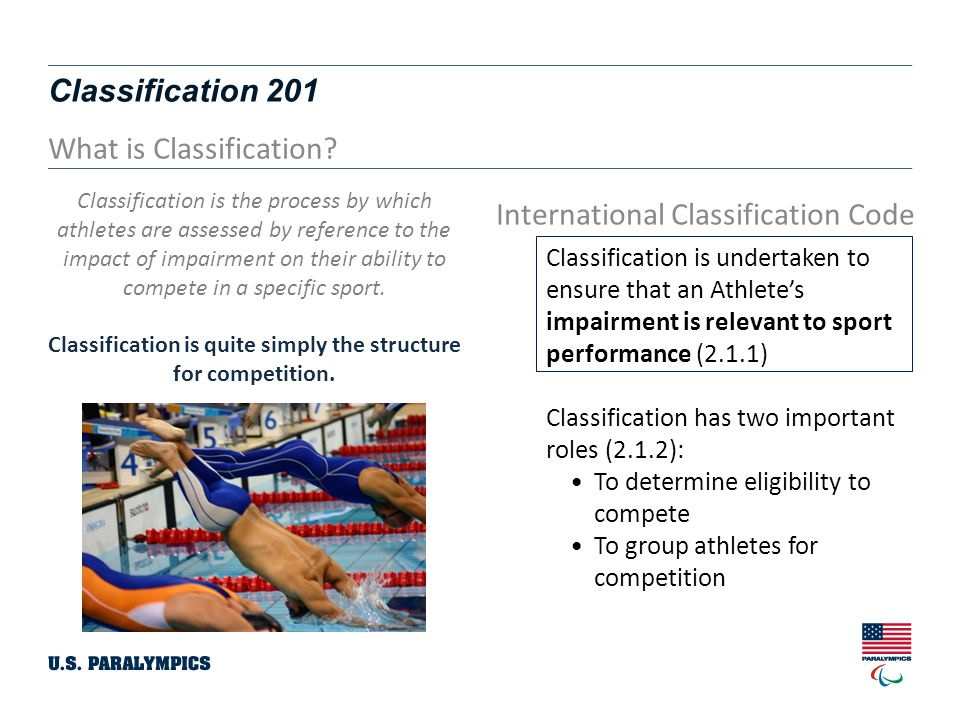 Classification 201 3 What is Classification.