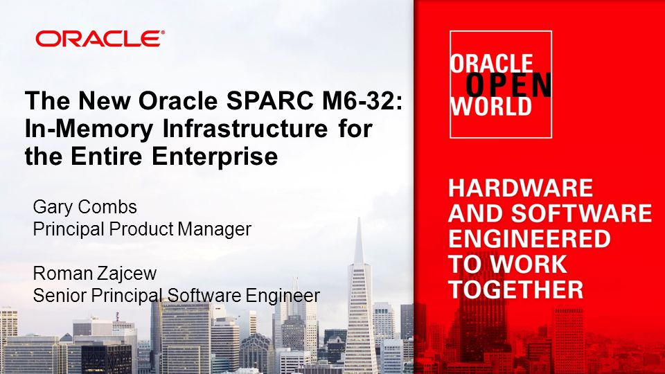 Copyright © 2012, Oracle and/or its affiliates. All rights reserved. 23 Target Workloads