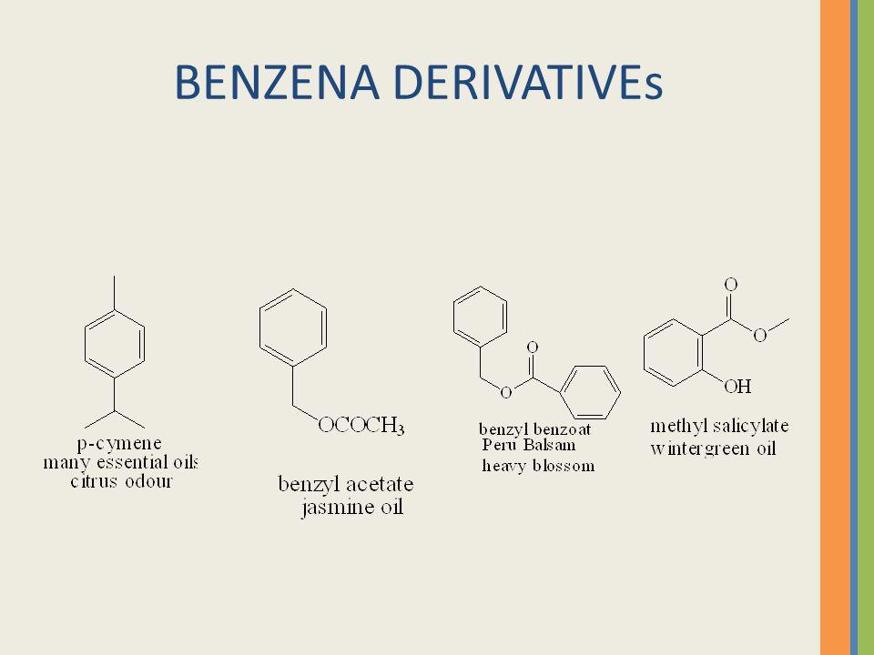 BENZENA DERIVATIVEs