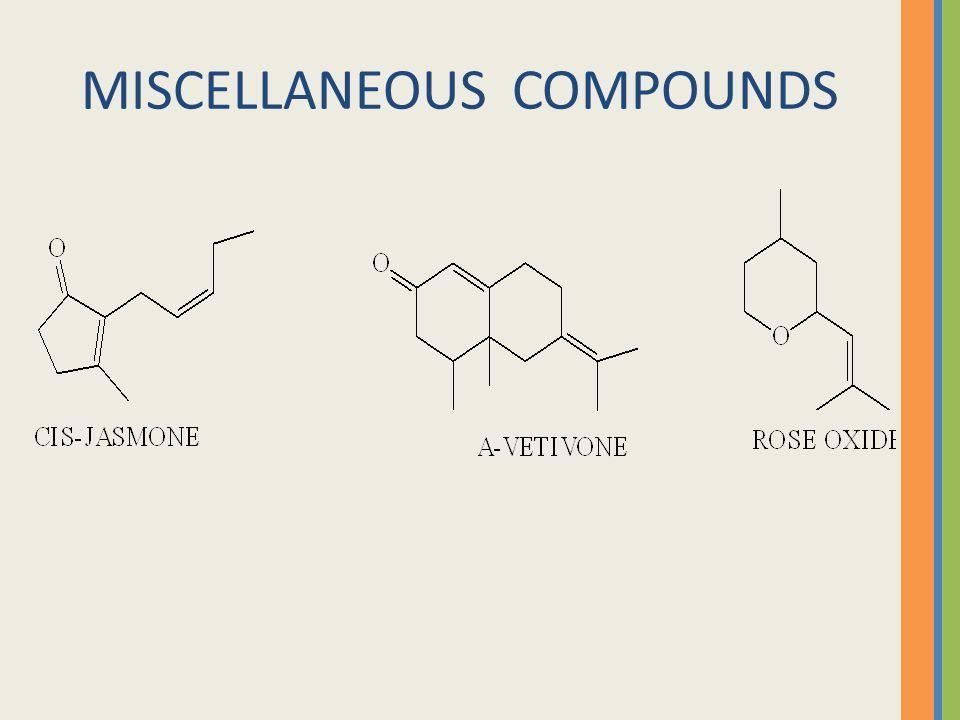 MISCELLANEOUS COMPOUNDS