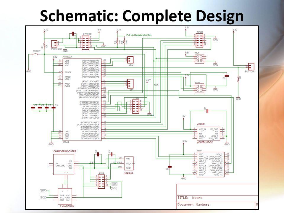 Schematic: Complete Design