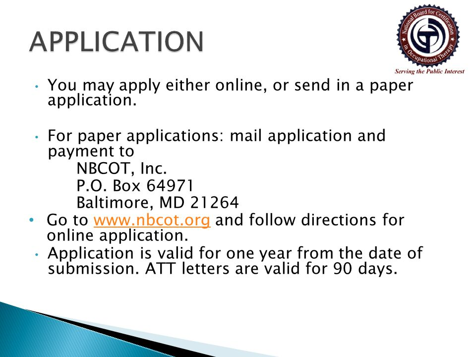 You may apply either online, or send in a paper application.