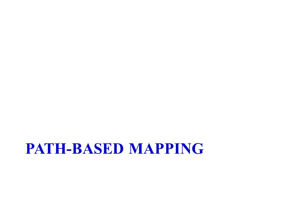 PATH-BASED MAPPING