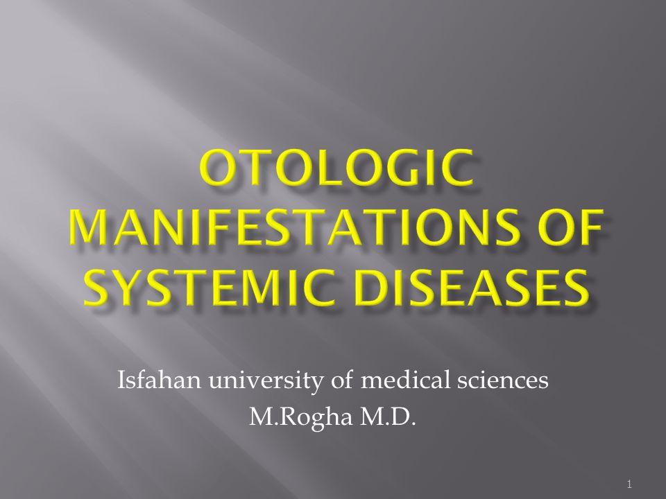 1 Isfahan university of medical sciences M.Rogha M.D.