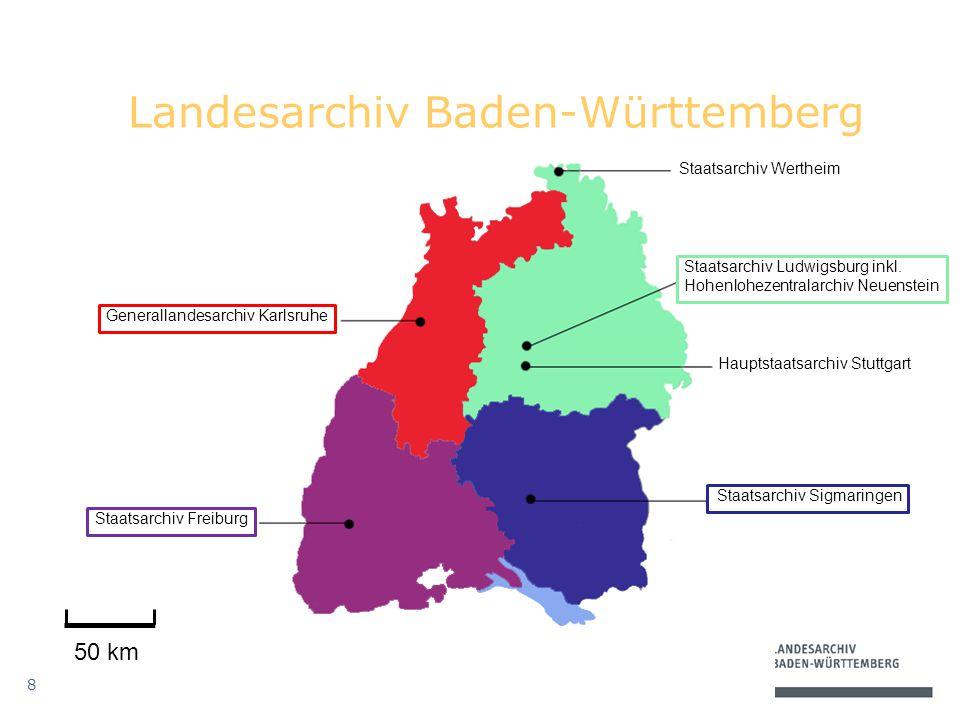 8 Staatsarchiv Wertheim Staatsarchiv Ludwigsburg inkl.