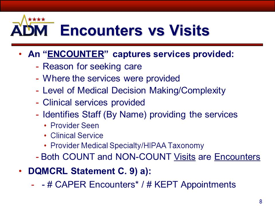 48 99499 – No CPT Code Check for BOTH 99499 and Blank E&M for KEPT, WALK-IN & S-CALL Visits Source: CHCS-ADM Encounter Detail Query
