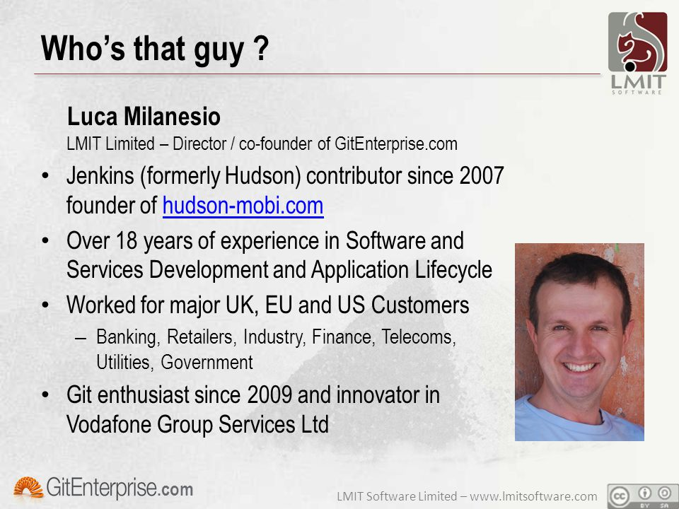 LMIT Software Limited – www.lmitsoftware.com.com Who's that guy .