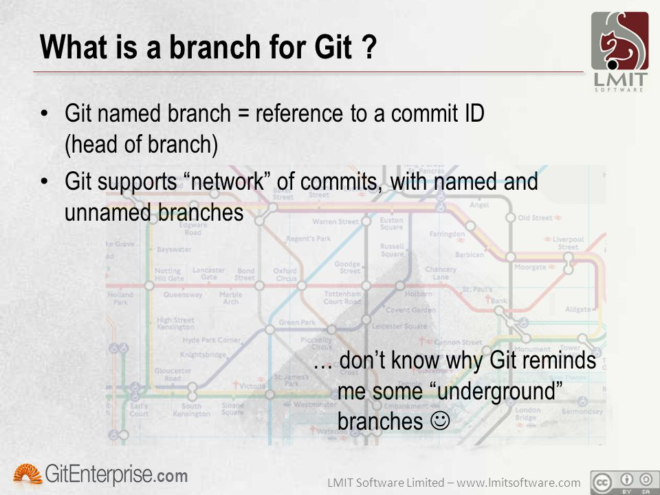 LMIT Software Limited – www.lmitsoftware.com.com What is a branch for Git .