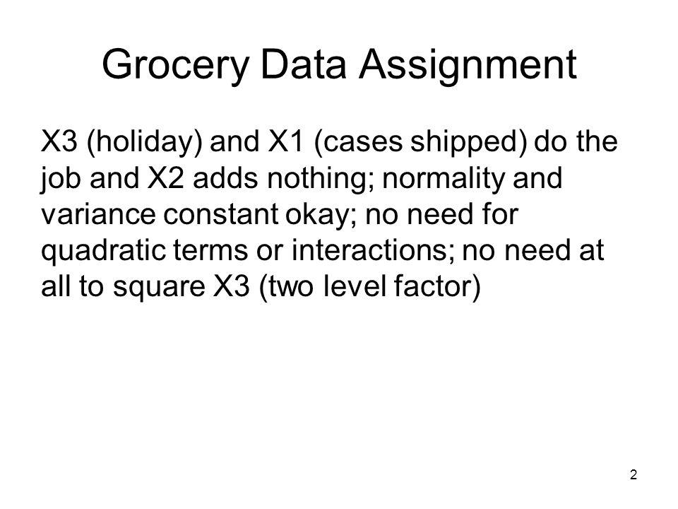 63 Fixed X Example—Toluca Data let k1 = k1 + 1 sample 25 c3 c5; replace.