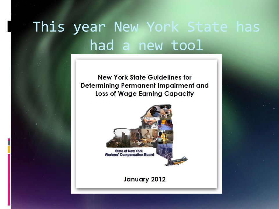 This year New York State has had a new tool