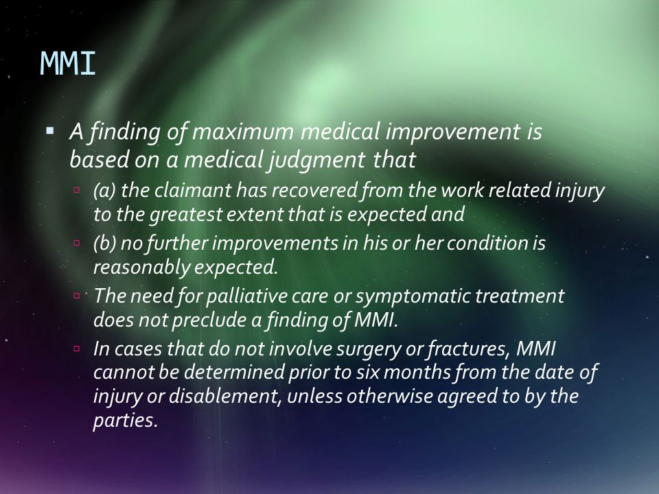 Criteria for loss of wage earning capacity 1.Evaluation and ranking of medical impairment 2.