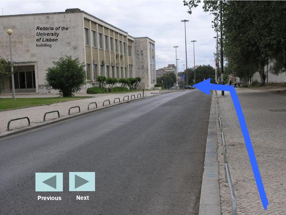 Reitoria of the University of Lisbon building Next Previous