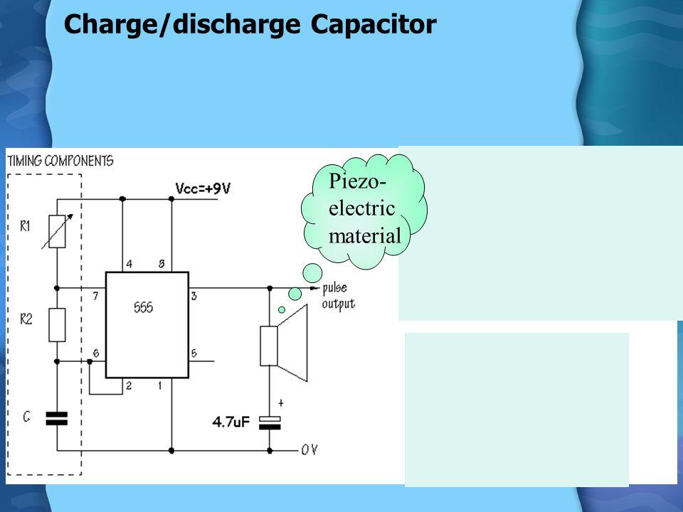 Discharging a capacitor