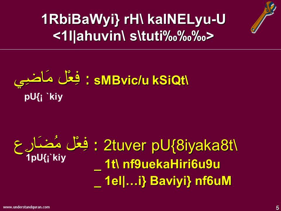 4 www.understandquran.com قواعد – vYakrzM xI{G wVasM 4fu8EwWM TPI 1nusric/\ 4l|a 4k\s{eessuM ecy/uk.