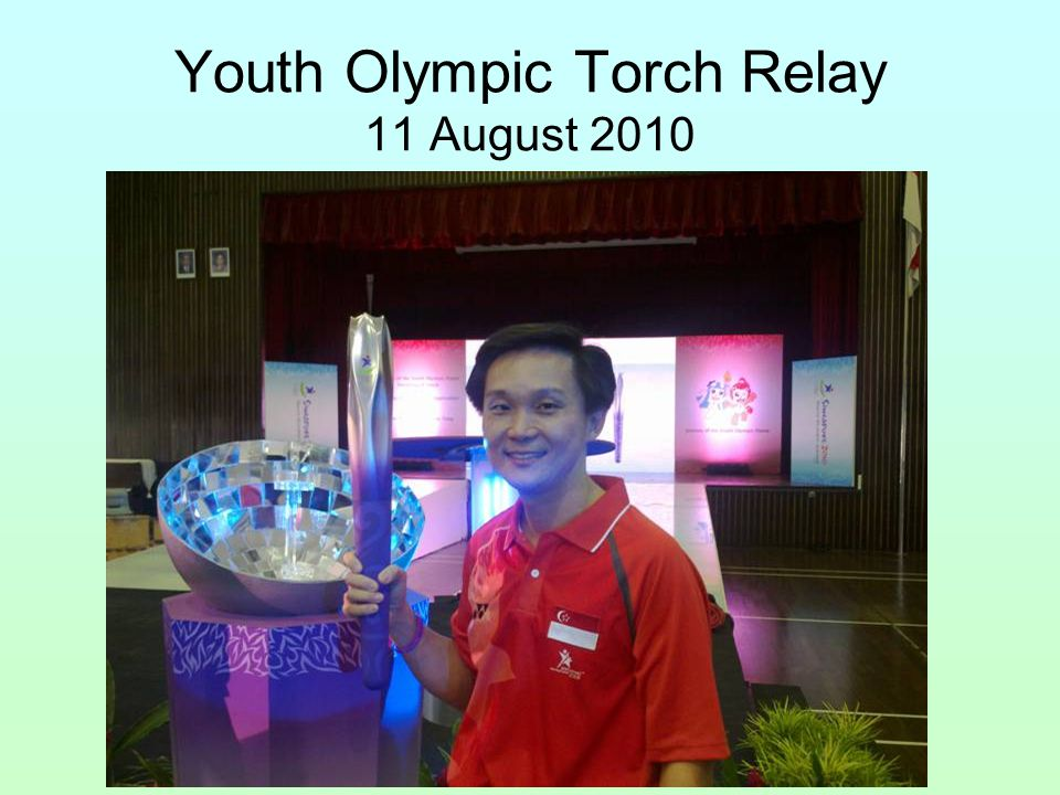 Youth Olympic Torch Relay 11 August 2010