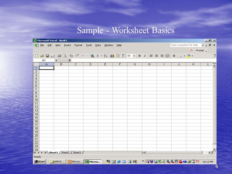 5 Sample - Worksheet Basics